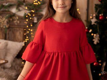sukienki świąteczne dla dziewczynki